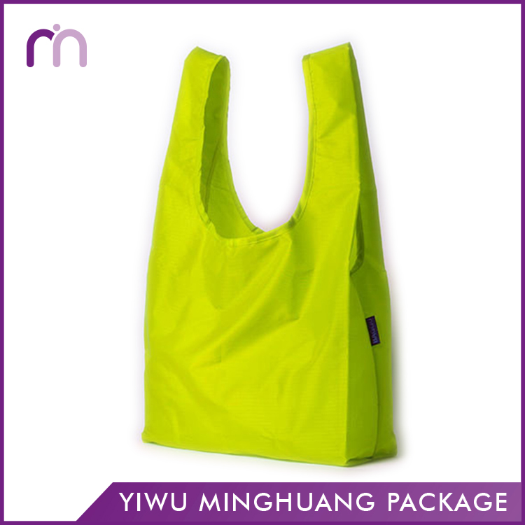 Accepted Custom Supermarket Retail Tote Polyester Carry Bag