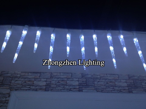 Super Bright Led Christmas Falling Ice Drop Icicle Lights