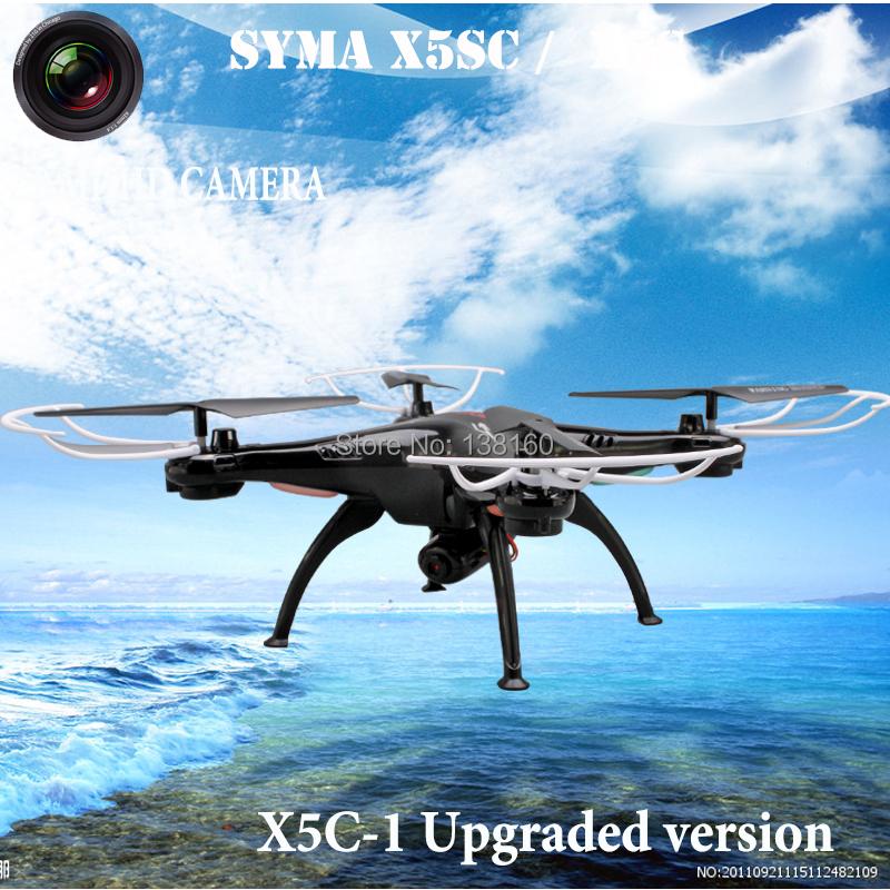 Presale Top Quality 2.4G 4CH 6-Axis SYMA X5C Upgrade X5SC X5S Toys RC