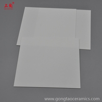 High Temperature Heat Resistant wear resistance ceramic 99.5% Alumina plate in Al2O3
