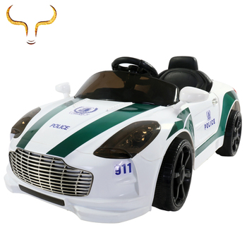 2018 kids toy police ride on car for child outdoor driving