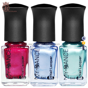 Wholesale Fashion Private Label Honey Girl Holographic Mirror Nail Polish