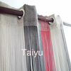 Popular woven string curtain with eyelet for decoration