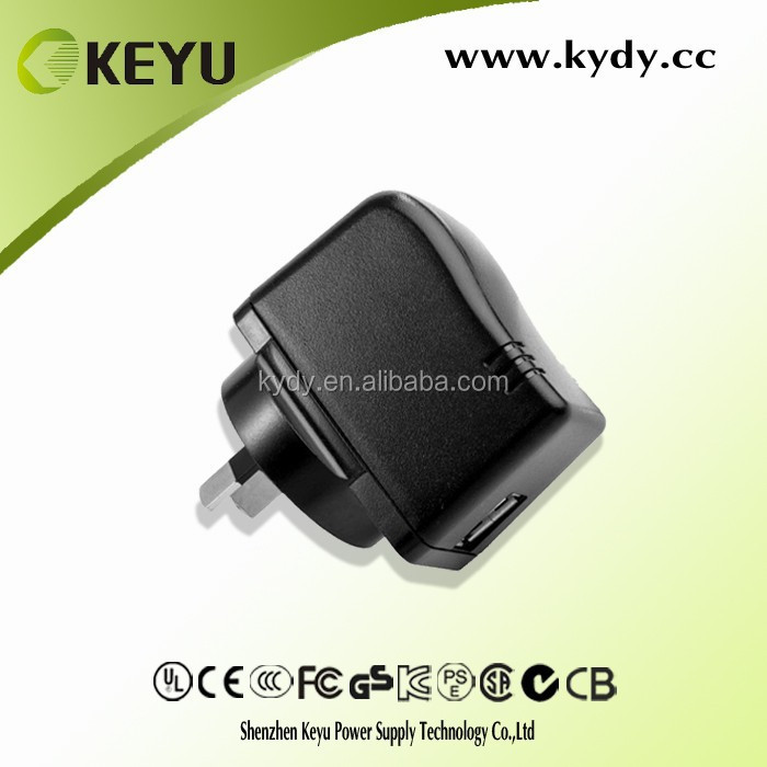 5v ac dc power adapter, 1.2m dc cable digital frame power supply