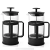 Customized Coffeeware Promotion Gift Black Color Coffee Maker French Press 600ml