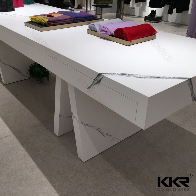 KKR faux alabaster acrylic solid surface sheet /solid surface material