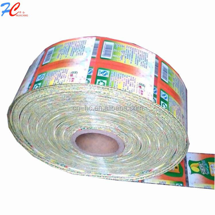 PVC shrink film, automatic packaging and printing sleeve,heat pvc shrink sleeve in roll