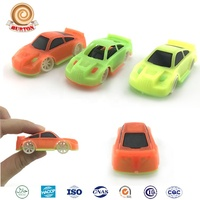 Plastic capsule mini slide racing car toy for kids for sale