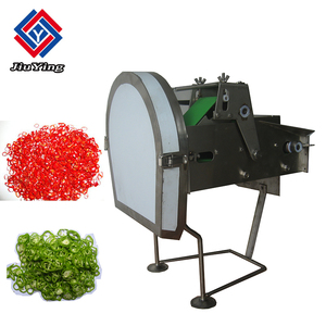 Mini type desktop green onion chili pepper cutter vegetable cutting machine for restaurant