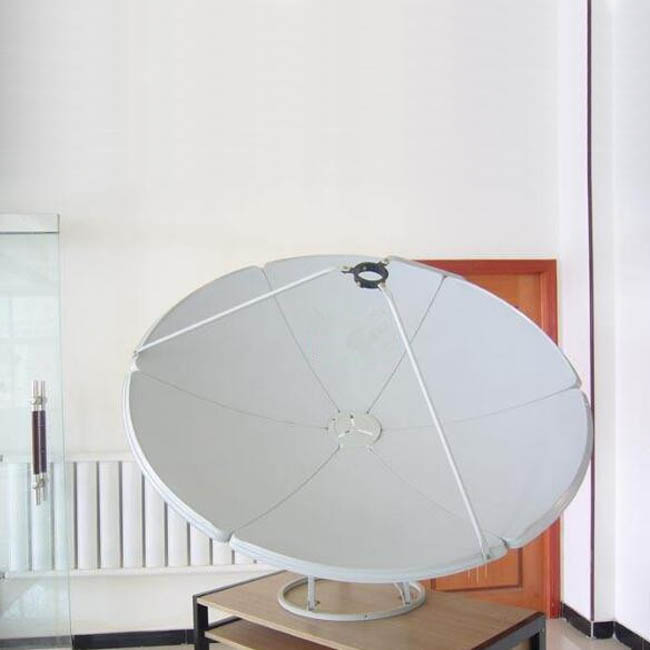 C Band lnb C Band Prime Focus Antenna Satellite Dish 180cm Ground Mount