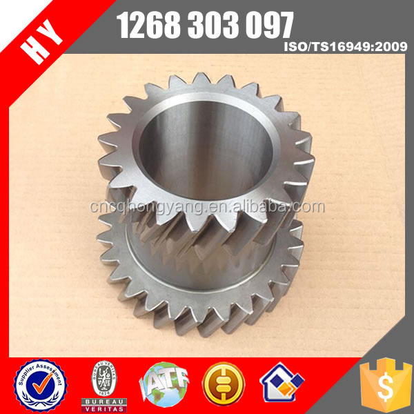 Chinese truck s6-90 gearbox overdrive 3rd 4th gear 1268303097
