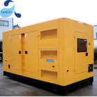 Silent Diesel Generator In 180KVA 150KW Air Cooled Super Silent Diesel Generator IN STOCK
