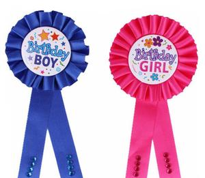 Wholesale Birthday Decoration Gift Of Kids Badges