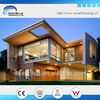 Luxury combined light steel prefabricated villa (aston)
