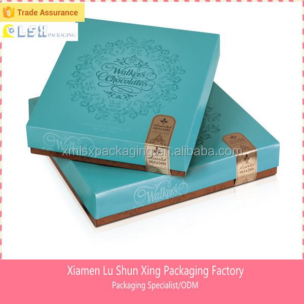 Handmade Creative Luxury Chocolate Box/ Chocolate Gift Box ...