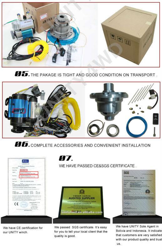 China 4x4 Accessory Manufacturer Rd128 4x4 Air Locker Differential ...