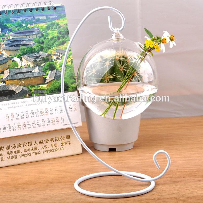 Hanging Glass Ball Terrariums Glass Globe Star Vase For Wedding