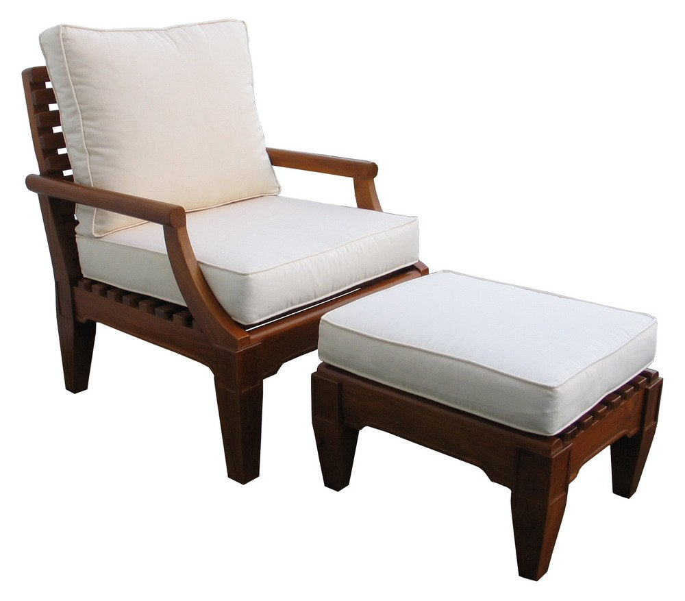 Wooden Armchair With Footstool   Buy Living Chair Product On Alibaba.com