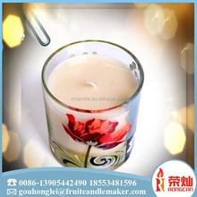 Wholesale high quality glass jar candle seven day candle