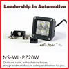 20W Double Row LED Light Bar Off Road LED Light Bar Auto 20W LED Driving Light