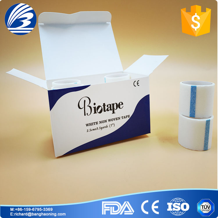cheap medical tape with silk , zinc oxide plater, non-woven , PE