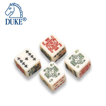 16mm Straight Angle Poker Resin Dice