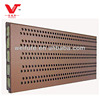 wooden perforated acoustic wall panel WS13