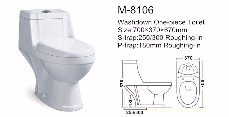 Good price bathroom nigeria wc toilet