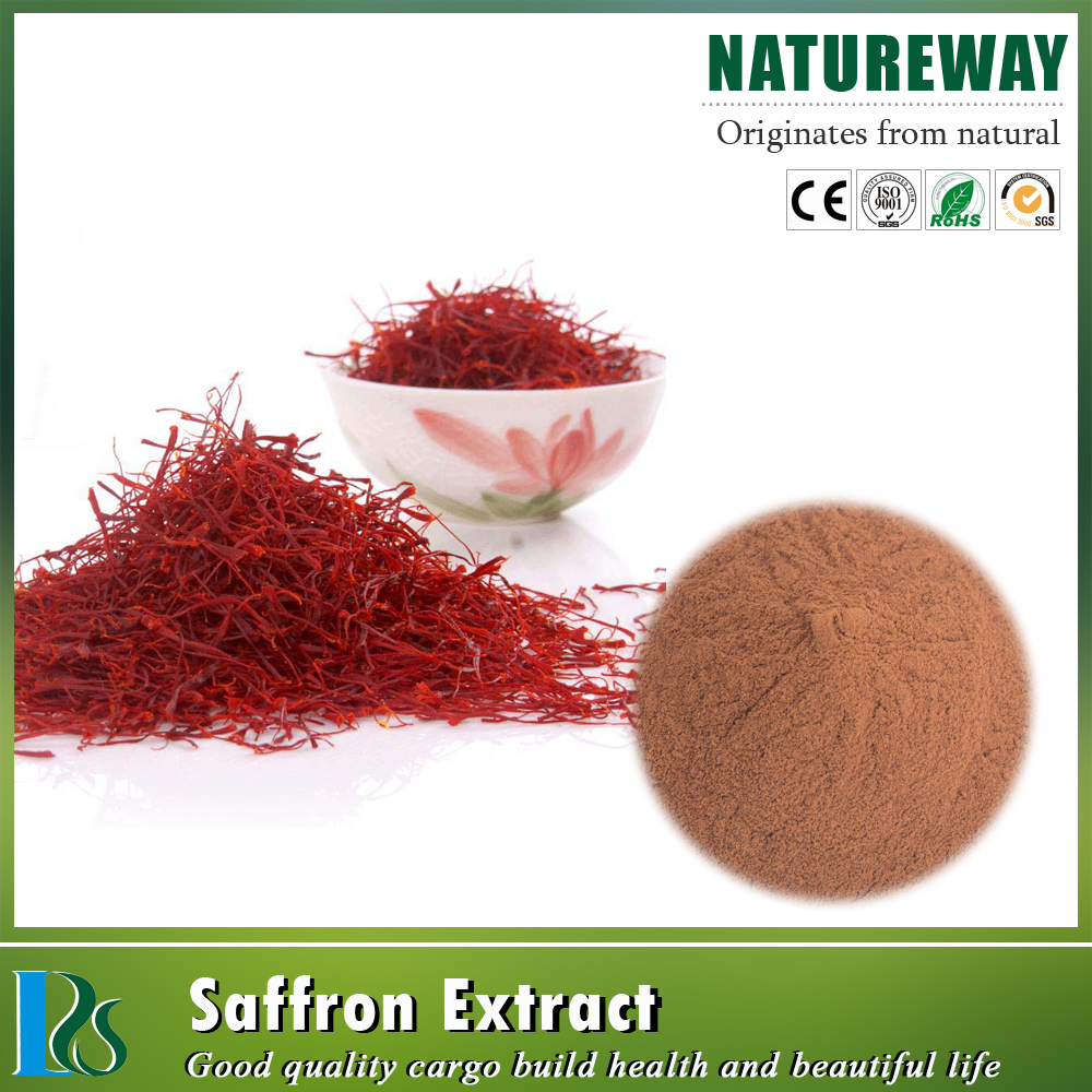 China Wholesale Indian saffron price Crocetin Molecular Formula C44H64O24 saffron extract