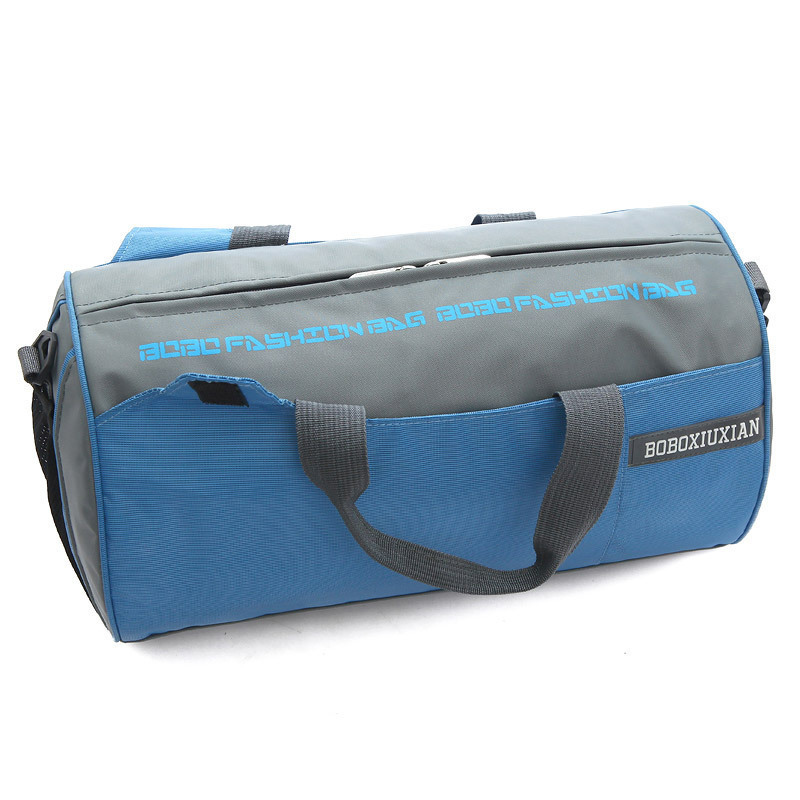 2015 new factory direct outdoor sports bag unisex sports bag barrel bag