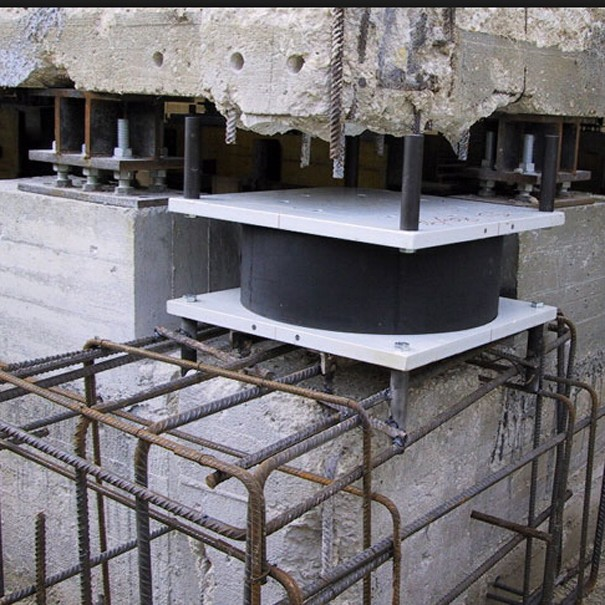 High Damping Rubber Isolator For Bridge With Competitive