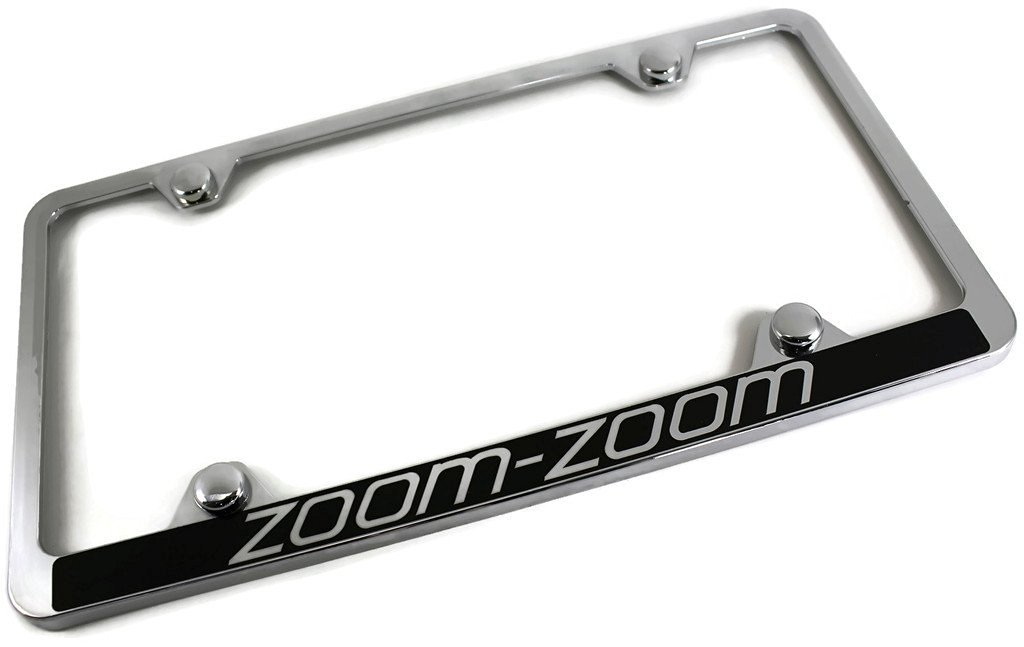 Cheap Zoom Zoom License Plate Frame, find Zoom Zoom License Plate ...