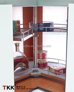 Tkk 270-grad-kücheneckschrank Drehkorb Kabinett Magic Corner Mdf ...