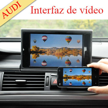 Multimedia car interface CE&ROSH suit for car tv monitor with wifi mirror link