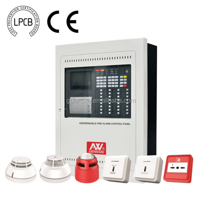 High Performance LPCB Addressable Fire Alarm 32 Zone Control Panel