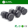 High Strength M12 M16 M20 M22 grade 10.9 grade 8.8 structural hex bolt and nut ISO7411