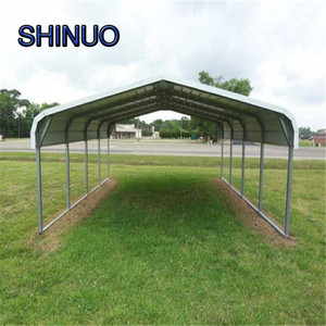 Hot sale low cost metal steel portable used carports for sale