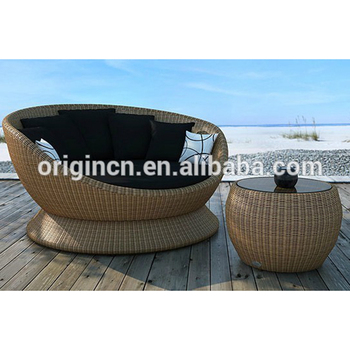 Magnificent Modern Egg Chair Design Patio Garden Lounge Furniture With Swivel Base And Side Table Rattan Daybed Buy Rattan Daybed Modern Furniture Swivel Lounge Andrewgaddart Wooden Chair Designs For Living Room Andrewgaddartcom