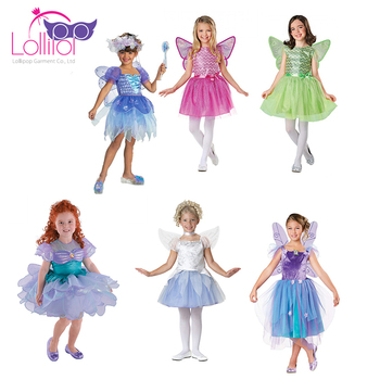 Customized factory price fairy princess elf girls dress
