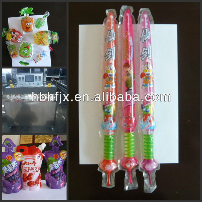 new design soft sachet plastic tube Mulberry Juice & Syrup filling and sealing packaging machine