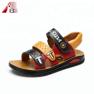 High quality summer fancy leather sandals