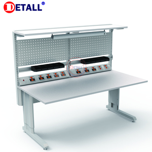 Factory Direct Led Lighting Standard Work Table ESD Workbench of Poats