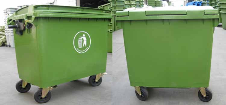 1100 Litre Waste Bins Big Dustbin Communal Garbage Bin Waste Bin ...