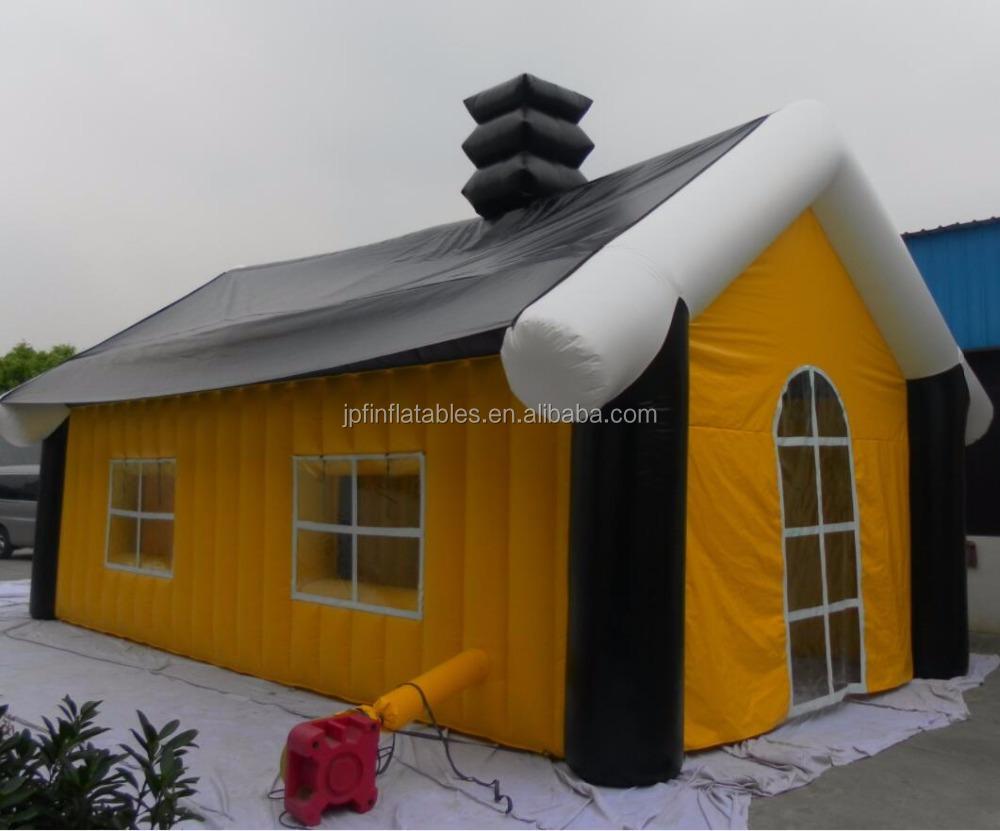 Casetta Di Natale Gonfiabile : Gonfiabile personalizzato casetta natale