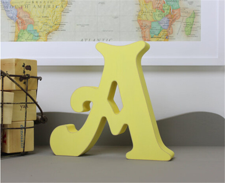 Mdf Letters Wooden Alphabet Letters Used For Home
