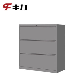 Lateral 2 3 4 A4 F4 Hanging File Storage Metal Cabinets With Central