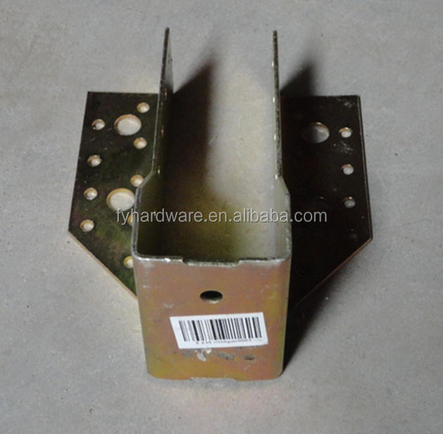 High quality low price L shape post support bracket
