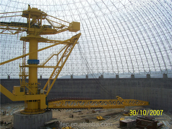Strong Wind Resistant Spaceframe Dome Structure