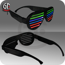 China Hot Promotional Items Led Sound Activated Glasses For Crazy party