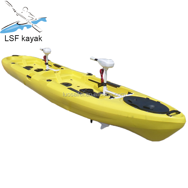2 person tandem fishing kayak with motor, View kayak with motor, LSF  Product Details from Cixi Luosaifei Kayak Co , Ltd  on Alibaba com